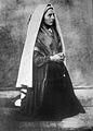 Bernadette Soubirous en 1861 photo Bernadou 4.jpg