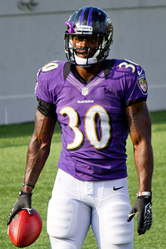 Bernard Pierce Navy Stadium 2012 Practice.jpg