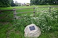 Bernwood Jubilee way memorial stone - geograph.org.uk - 557453.jpg