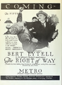 Bert Lytell in The Right of Way by Jack Dillon Film Daily 1920.png
