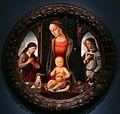 Biagio d'antonio tucci, madonna col bambino, san giovannino e un angelo.JPG