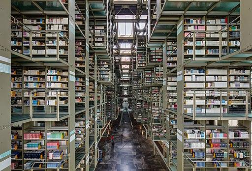 Biblioteca Vasconcelos, Ciudad de México, México, 2015-07-20, DD 16-18 HDR