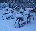 Bicycles snow Graz 2005 original.jpg