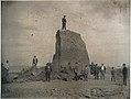 Big Mound during destruction, The last of the Big Mound.jpg