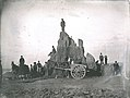 Big Mound during destruction. The last of the Big Mound.jpg
