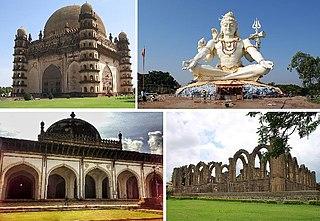 Bijapur City in Karnataka, India