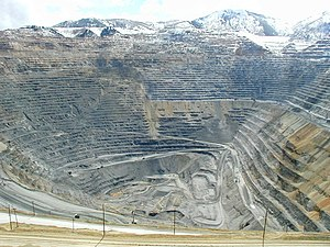 Bingham Canyon Mine - Mine in 2003
