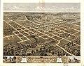 Bird's eye view of the city of Columbia, Boone Co., Missouri 1869. LOC 73693473.jpg