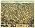 Bird's eye view of the city of Lexington, Fayette County, Kentucky 1871. LOC 73693414.jpg