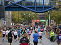 Birmingham half marathon approaching the finish (4001232250).jpg