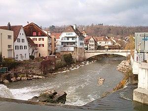 Birs (river) - The Birs in Laufen