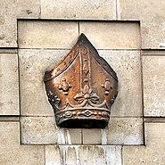 Bishop's mitre, Bishopsgate, London