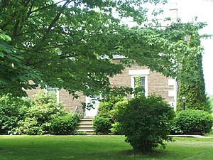 National Register of Historic Places listings in Niagara County, New York - Image: Bixby House Jun 09