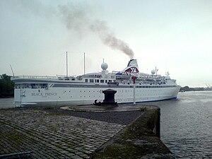 MV Ola Esmeralda (1966) - Image: Black Prince Nantes