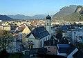 Blick über Kufstein von der Festung aus.JPG