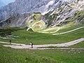 Blick von der Bergstation der Alpspitzbahn - panoramio.jpg