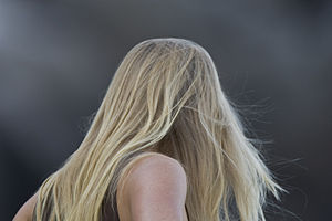 Blond hair is the result of having little to n...