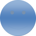 Blue Gradient Smiley Face.png