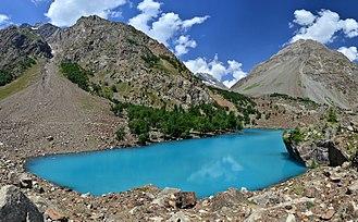 Naltar lakes - Image: Blue Lake 2, Naltar, Gilgit Baltistan