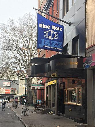 Blue Note Jazz Club - Image: Blue Note Jazz Club, New York City