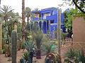 Blue villa in Majorelle garden (2844934317).jpg