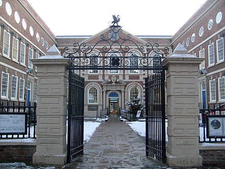 Bluecoat Chambers, the oldest building in Liverpool city centre Bluecoat Jan 6 2010 1.jpg