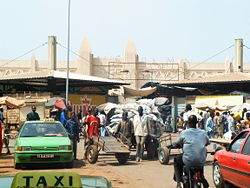 The market in Bobo Dioulasso