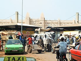 Bobo-Dioulasso marketplace, 2006