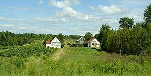Bois-Franc, Quebec - Rural scene in Bois-Franc