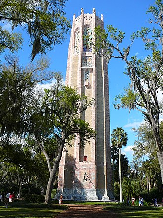 Bok Tower Gardens - Image: Bok Tower rear