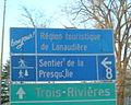 Bonjour Lanaudière Sign On Route 138 Repentigny.JPG