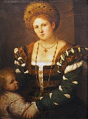 Portrait of a Lady with a Boy