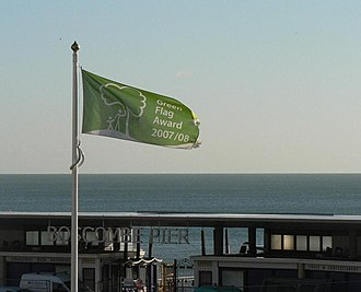 Green Flag Award - The Green Flag Award for Boscombe Chine Gardens