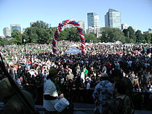 MassCann/NORML's Freedom Rally in Boston 2008