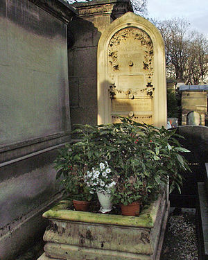 Lili Boulanger - Tomb of Lili and Nadia Boulanger.