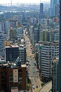 Boundary Street Street in Kowloon, Hong Kong