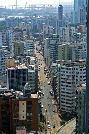 Boundary Street - Boundary Street near Prince Edward, Hong Kong