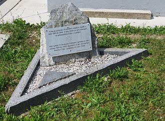 Bovec - Mass grave memorial