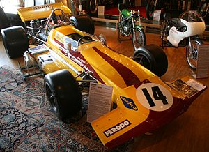 Colin Crabbe Racing - Peterson's 1970 March 701, in its original Antique Automobiles Ltd paint scheme