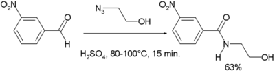 Chemoselective reduction of aldehydes by ruthenium trichloride and resin