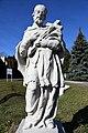 Bozsok, Nepomuki Szent János-szobor 2021 08.jpg