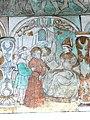 Brøns kirke - Wandmalerei 2 - Christus vor Hohempriester Annas.jpg