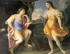 Bradamante - Bradamante and Fiordispina (1632–1635) by Guido Reni.