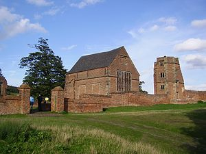 Thomas Grey, 2nd Marquess of Dorset - The remains of Dorset's house at Bradgate Park