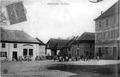 Brangues, la place, 1918, p 32 l'Isère les 533 communes - Déraud, librarie-éditeur, à Morestel.tif