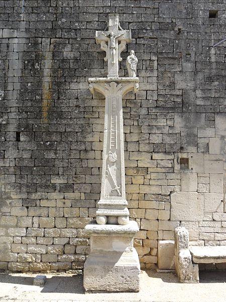 Brauvilliers (Meuse) croix de chemin