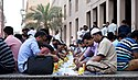A community Iftar in Dubai