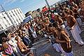 Brest - Fête de la musique 2014 - Cuban Fire et Obrigatao - 001.jpg