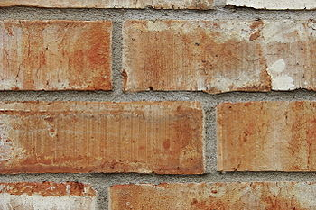 English: Bricks in a wall.