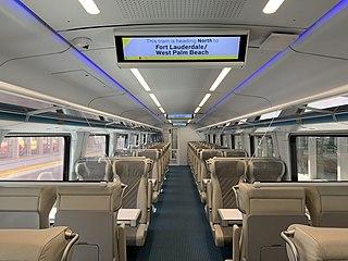 Siemens Venture single-level passenger railcar model